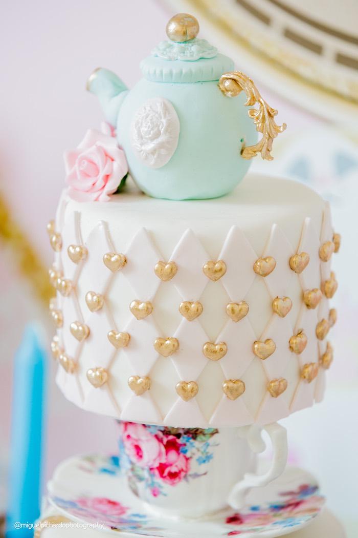 Karas Party Ideas Pastel Glam Alice in Wonderland