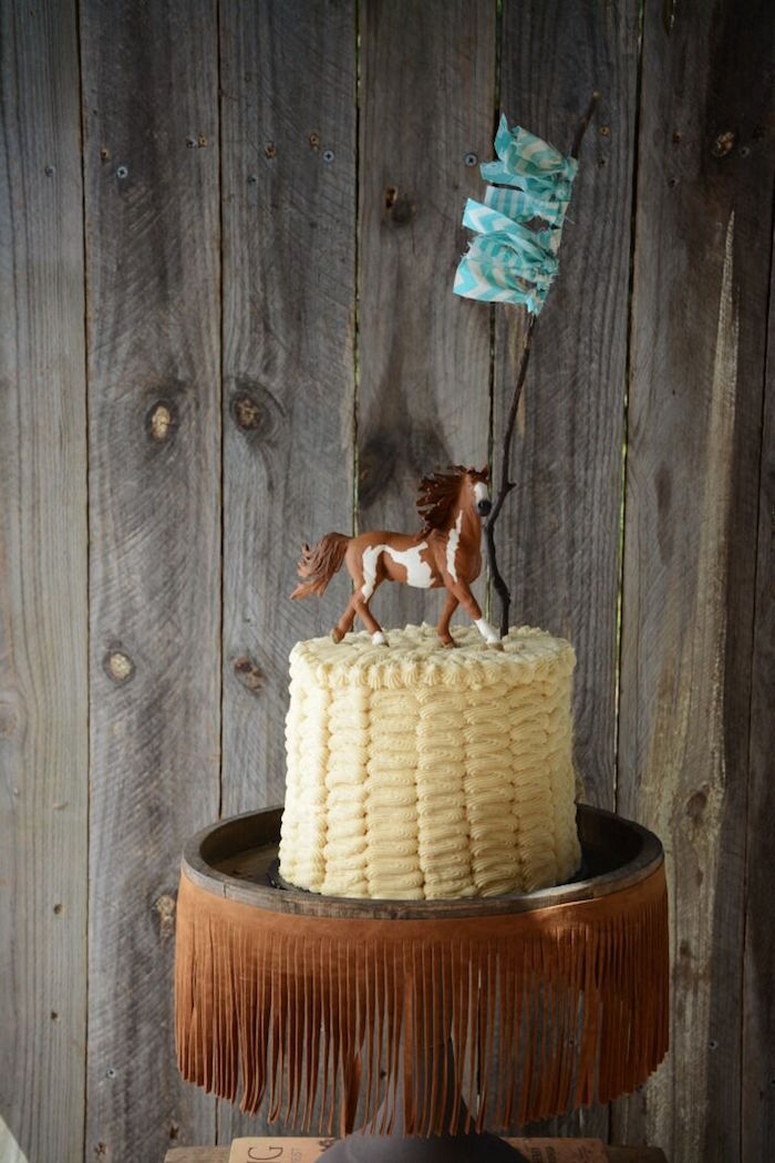 kitchen set for girl console kara's party ideas rustic horse birthday | ...