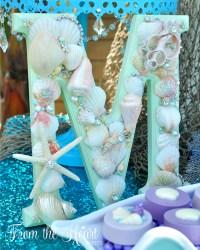 Kara's Party Ideas Vintage Glamorous Little Mermaid ...