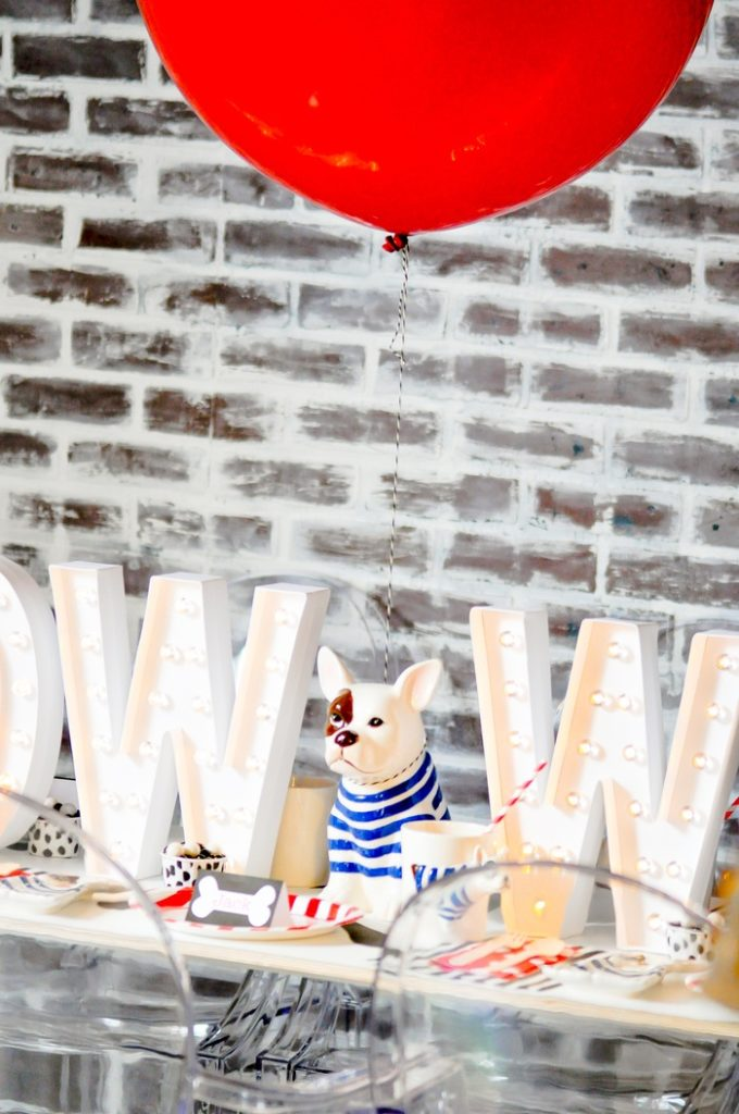 Kara's Party Ideas French Bulldog & Friends Dog Themed