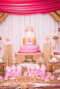 Kara's Party Ideas Royal Princess Baby Shower | Kara's ...