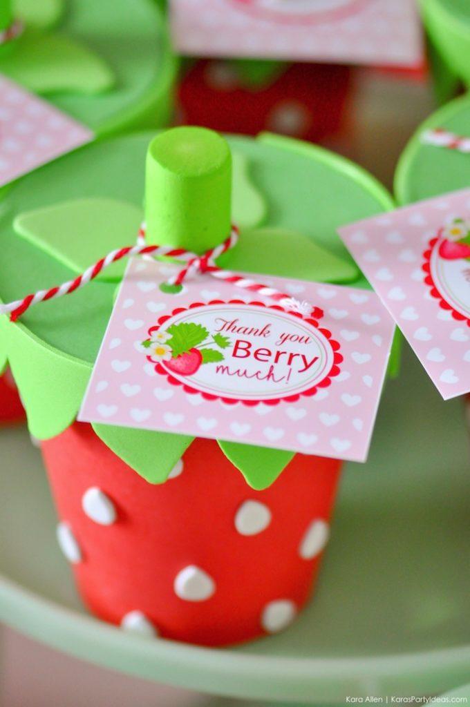 Kara's Party Ideas Berry Sweet Strawberry Valentine's Day