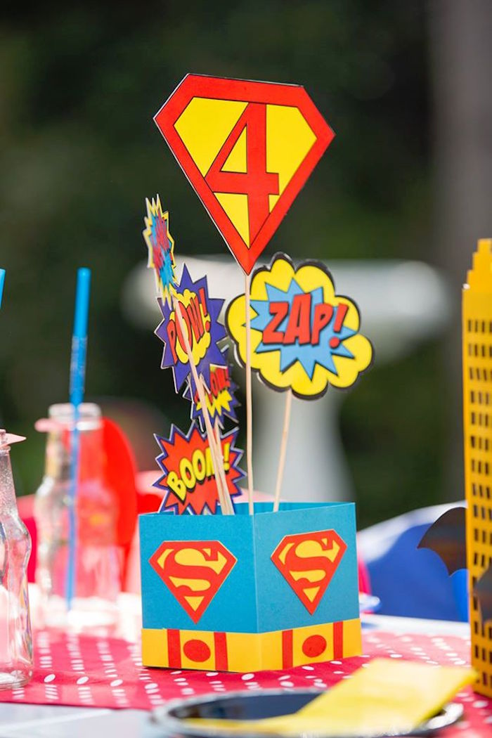 baby table and chairs shower stools kara's party ideas calling all superheroes birthday |