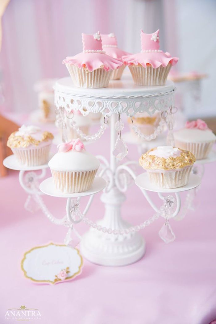 Karas Party Ideas Elegant Ballerina Birthday Party  Kara