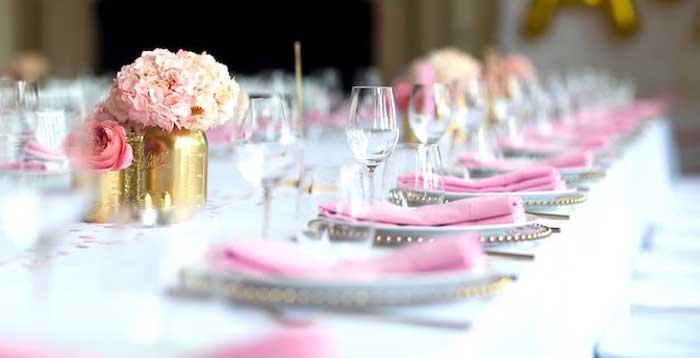 Bridal Table Settings