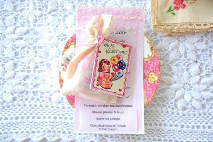 Karas Party Ideas Vintage Valentines Day High Tea Party