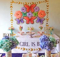 """Kara's Party Ideas """"A Girl is Blooming"""" Spring Baby Shower ..."""