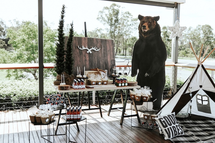 kara s party ideas lumberjack wild