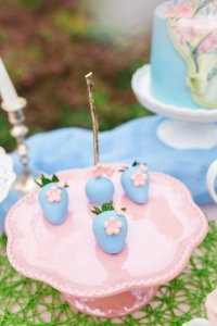 Kara's Party Ideas Bridal Shower Garden Tea Party | Kara's ...