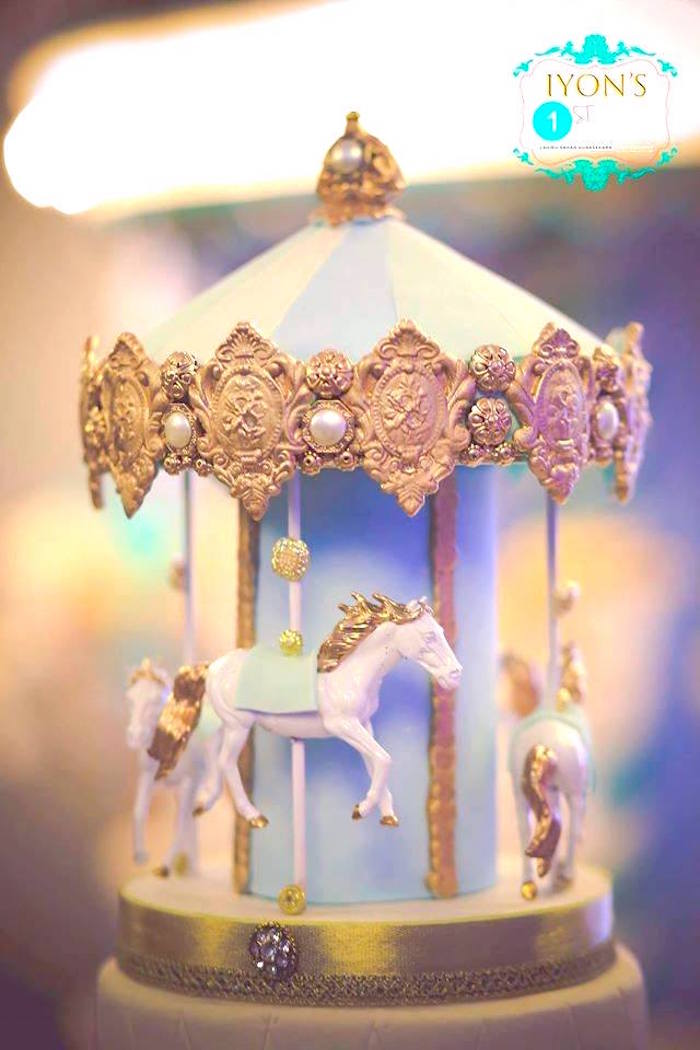 Kara S Party Ideas Magical Carousel Birthday Party Kara