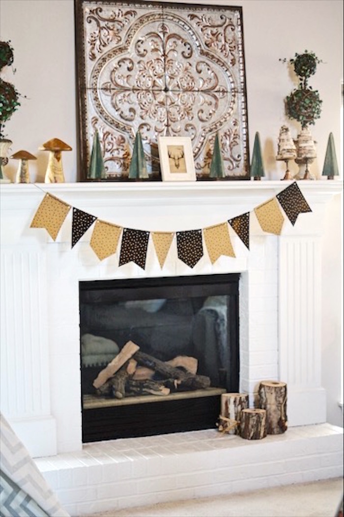 Karas Party Ideas Rustic Camping First Birthday Party