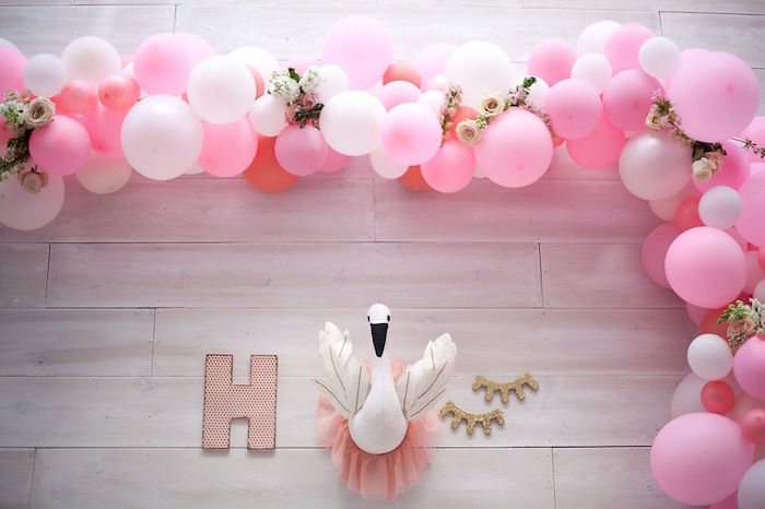 Karas Party Ideas Magical Sweet Swan Birthday Party