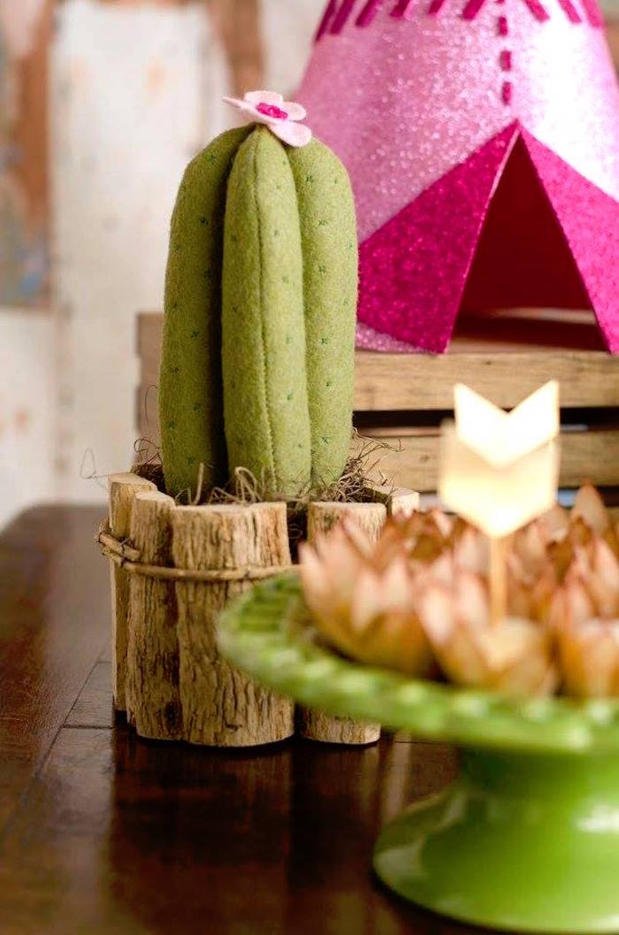 Karas Party Ideas Tribal Cactus Birthday Party  Karas