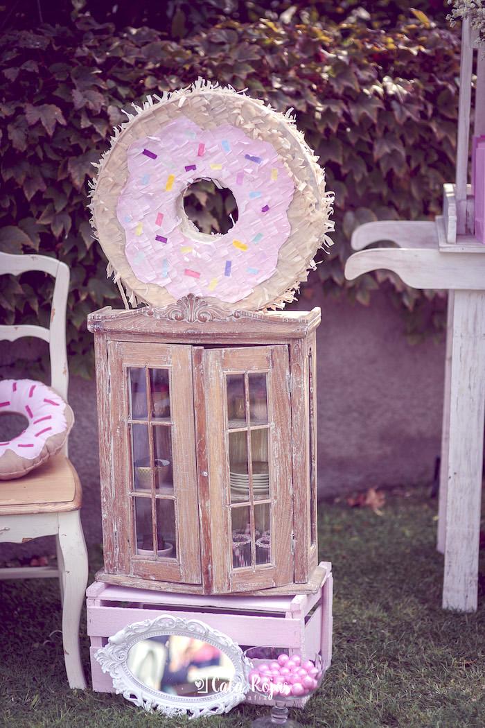 Karas Party Ideas Vintage Donut Shop Birthday Party  Karas Party Ideas