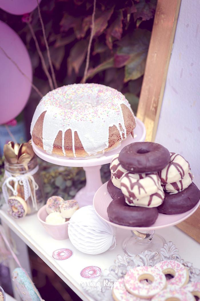 Karas Party Ideas Vintage Donut Shop Birthday Party