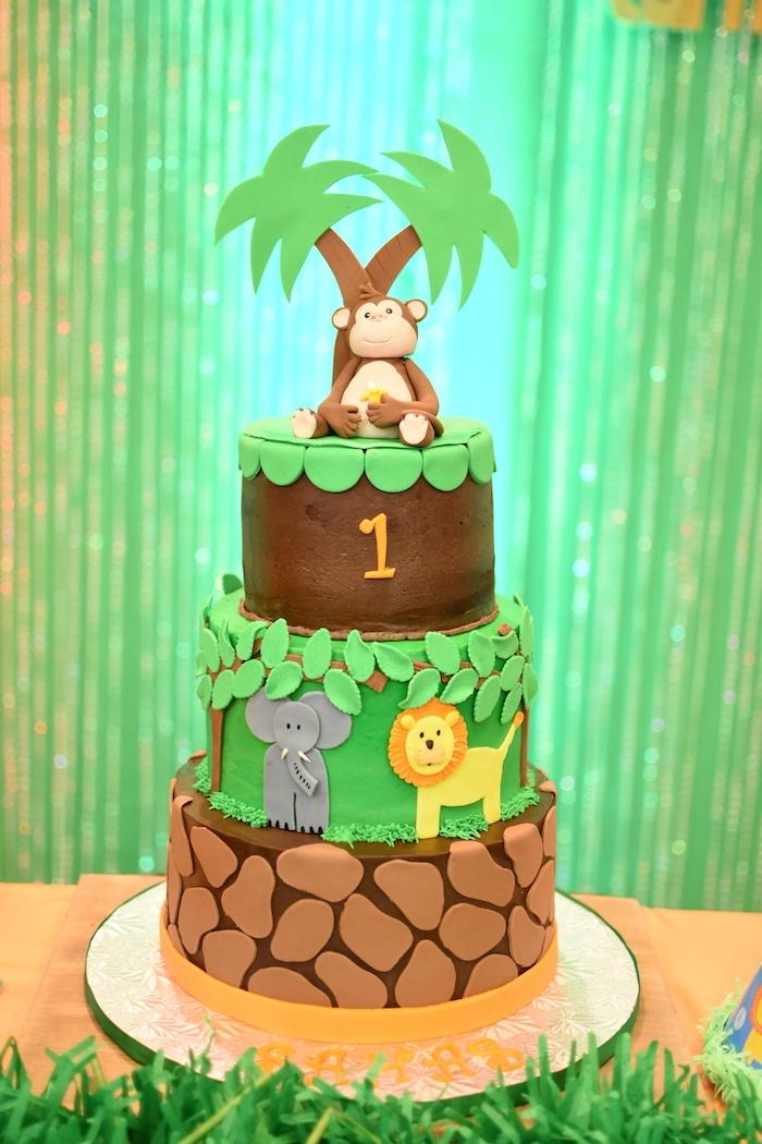 Karas Party Ideas Jungle Safari Birthday Party  Karas