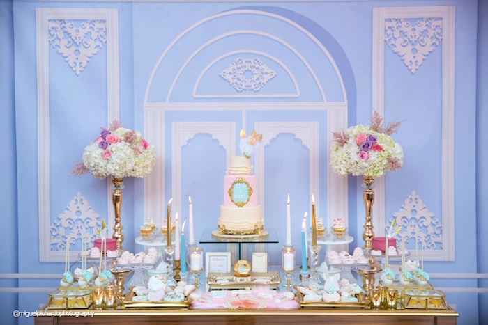 Karas Party Ideas Marie Antoinette Baby Shower  Karas