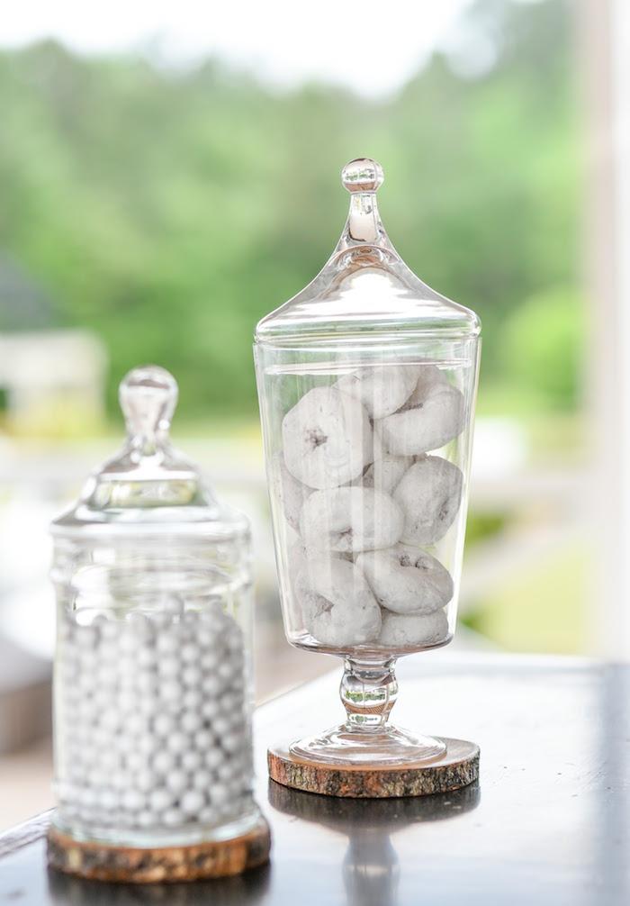 Karas Party Ideas Message in a Bottle Sea Inspired