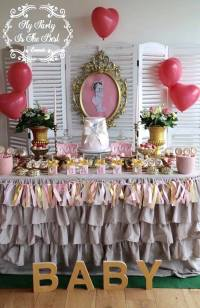 Kara's Party Ideas Vintage Baby Doll Baby Shower | Kara's ...