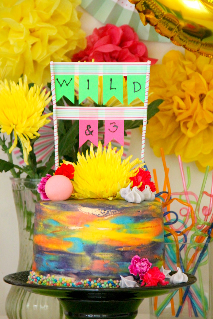 Kara S Party Ideas Quot Wild Amp Three Quot 3rd Birthday Party
