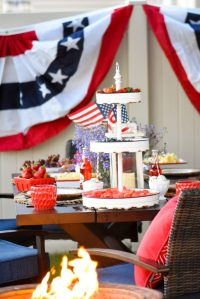 Kara's Party Ideas 4th of July Backyard Patio Barbeque ...