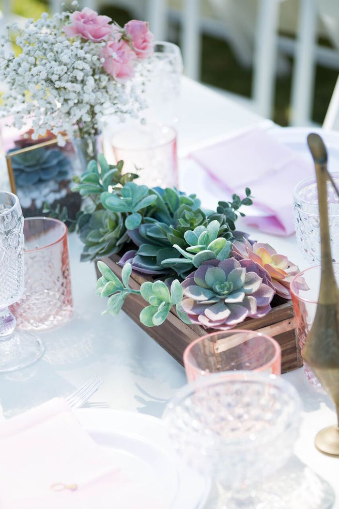 Karas Party Ideas Boho Rustic Chic Engagement Party