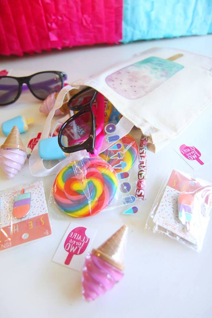 Karas Party Ideas Two Cool Popsicle Themed Birthday Party  Karas Party Ideas