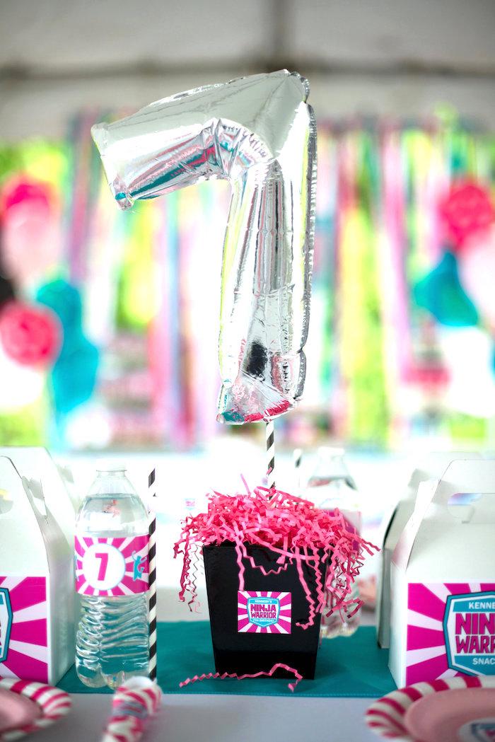 Karas Party Ideas American Ninja Warrior Themed Birthday Party  Karas Party Ideas
