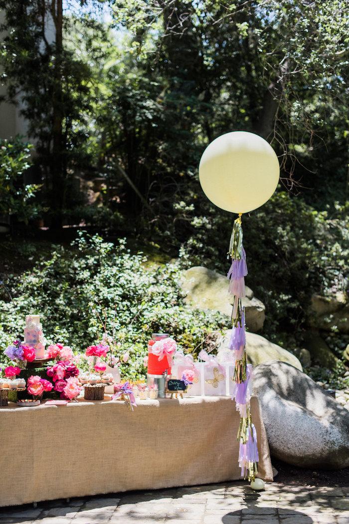 Karas Party Ideas Enchanted Fairy Garden Birthday Party