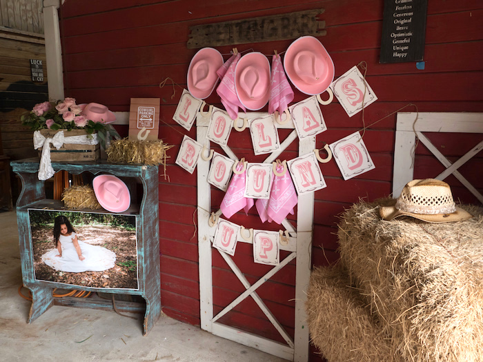 Kara S Party Ideas Horse Ranch Cowgirl Birthday Party