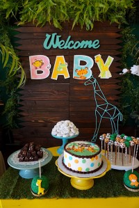 Kara's Party Ideas Safari Animal Baby Shower