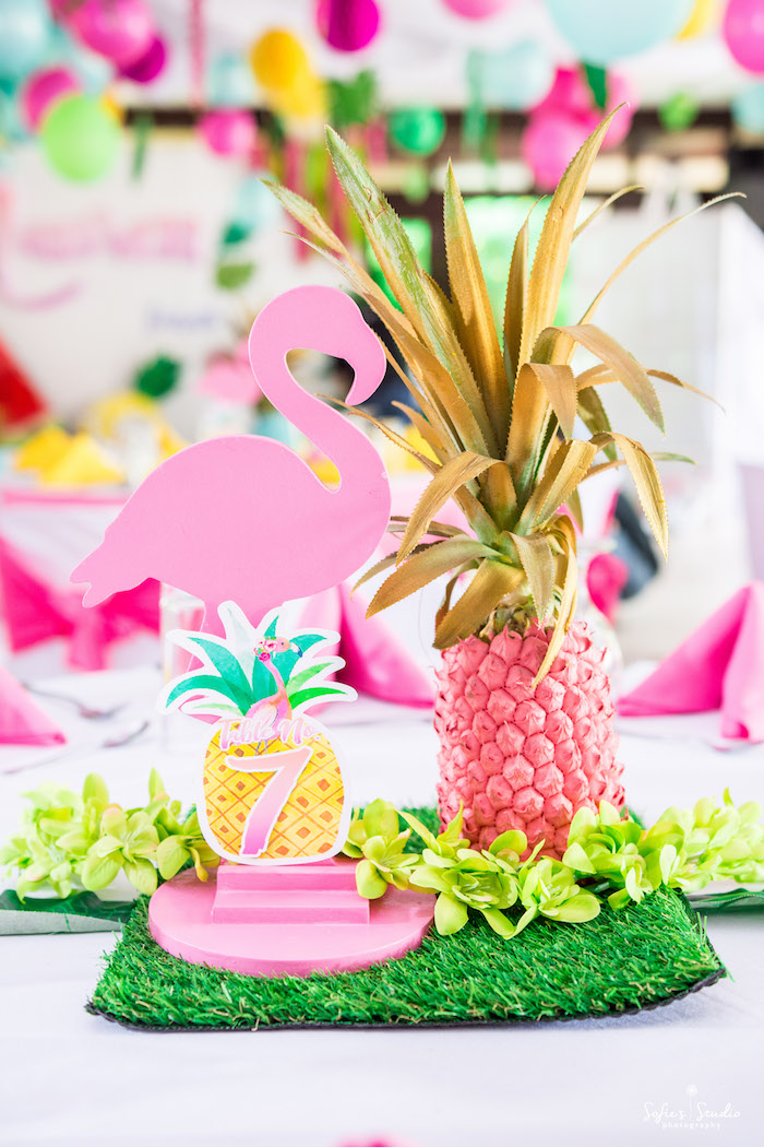 peacock hanging chair stand desk kara's party ideas chic flamingo birthday |