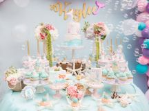 Kara's Party Ideas Pastel Mermaid Birthday Party | Kara's ...