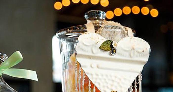 Karas Party Ideas Love is Sweet Baby Shower Dessert Bar  Karas Party Ideas
