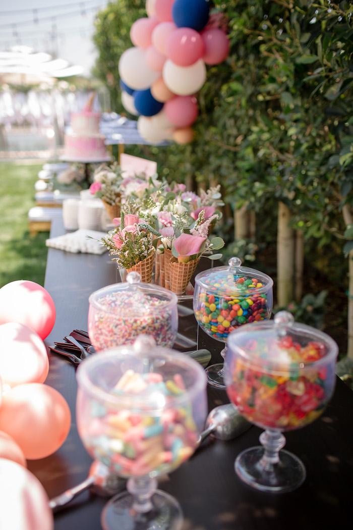 Karas Party Ideas Garden Spa Treat Yourself Birthday