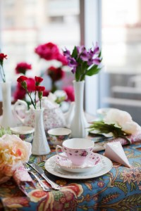 Kara's Party Ideas Garden Tea Party Bridal Shower | Kara's ...
