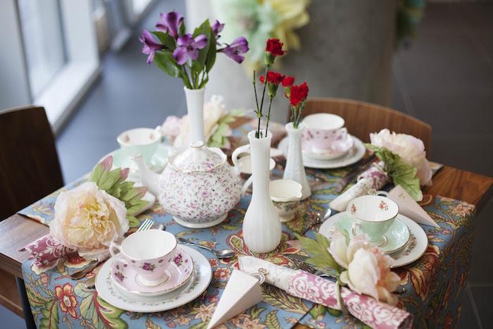 Kara's Party Ideas Garden Tea Party Bridal Shower