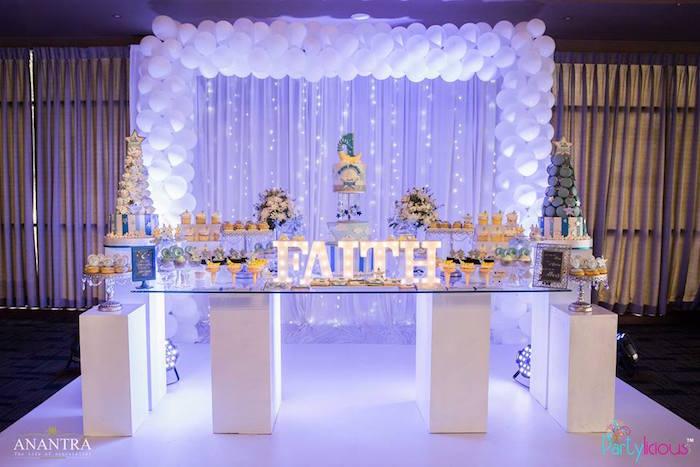 Karas Party Ideas Stars and Moon Birthday Party  Karas
