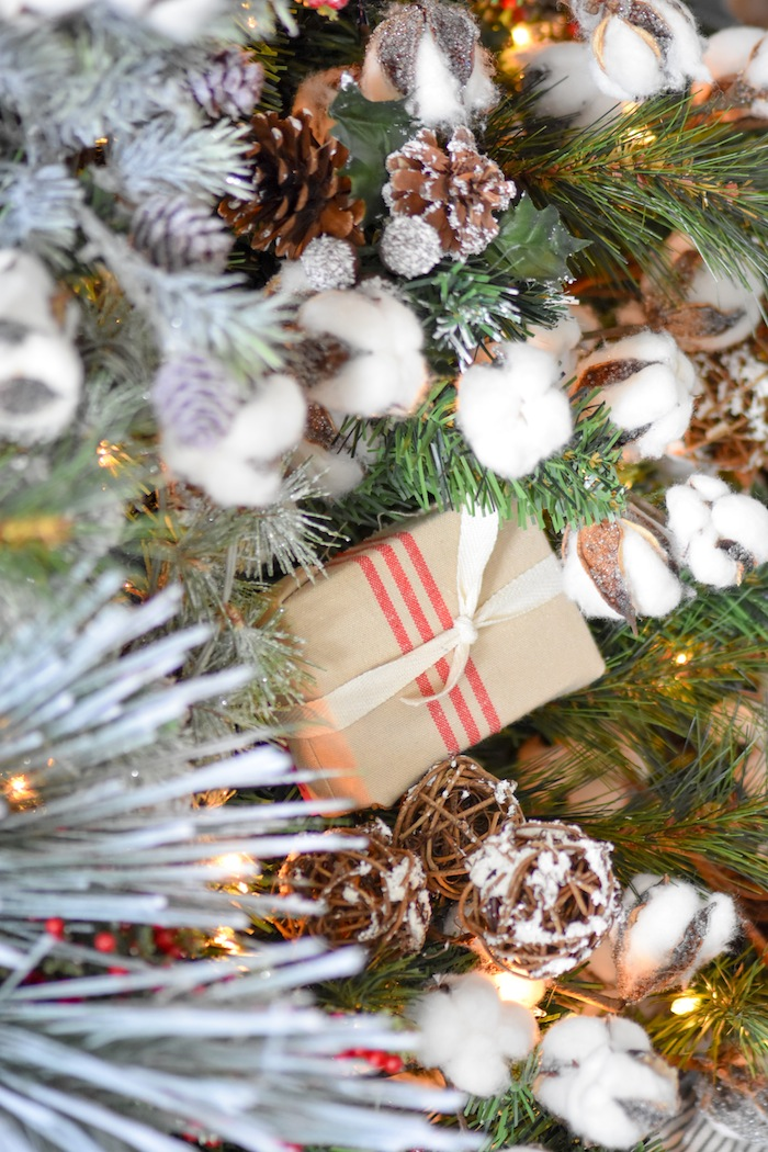 Karas Party Ideas Farmhouse Christmas Tree  Michaels