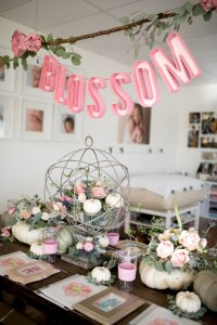 Kara's Party Ideas Floral Fall Baby Shower | Kara's Party ...