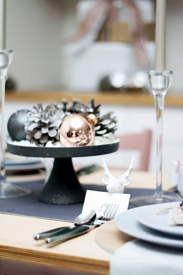 Karas Party Ideas Nordic Luxe Christmas Party Karas