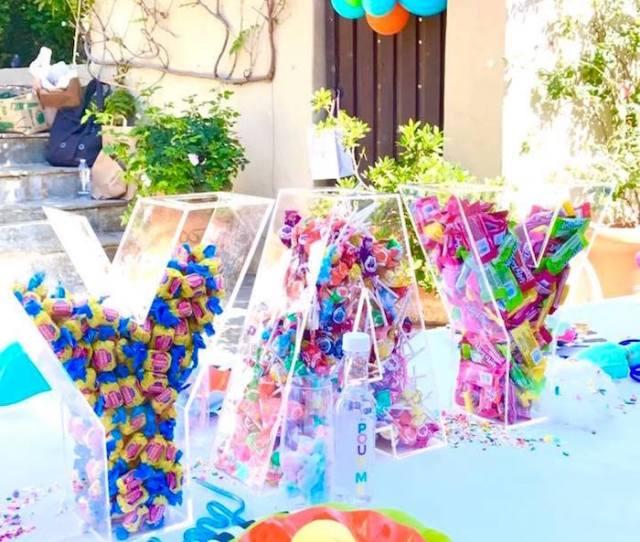 Colorful Modern 10th Birthday Party On Karas Party Ideas Karaspartyideas Com