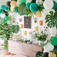 Child Patio Chair Boss Office Chairs Kara's Party Ideas Jungle 1st Birthday |