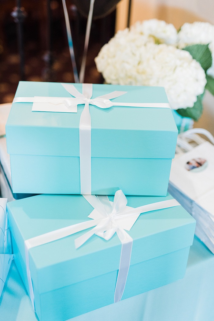 Karas Party Ideas Tiffany  Co Bridal Shower  Karas