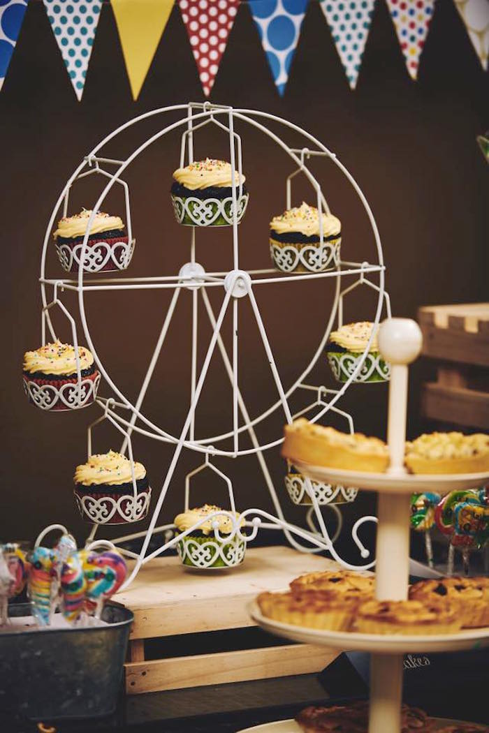 Karas Party Ideas Vintage County Fair Birthday Party