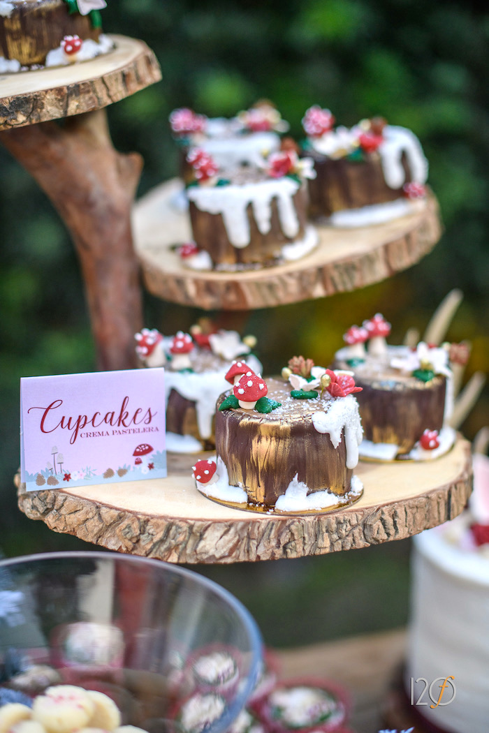 Karas Party Ideas Woodland Holiday Birthday Party  Karas Party Ideas