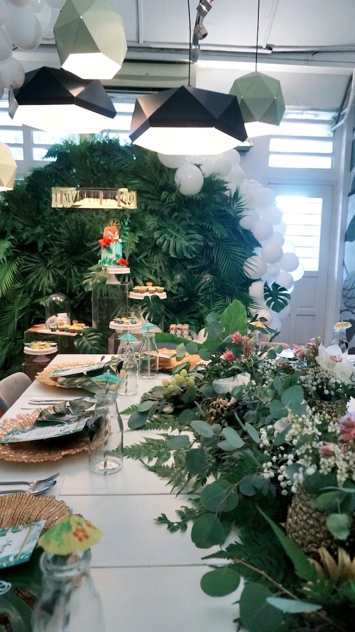 Tropical Jungle Baby Shower