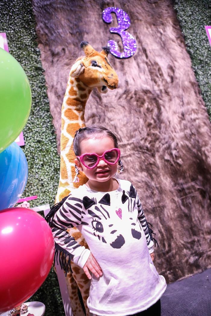 Kara S Party Ideas Quot Young Wild Amp Three Quot Animal Birthday