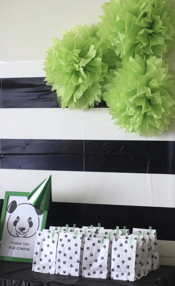 Karas Party Ideas Bamboo Panda Birthday Party  Karas