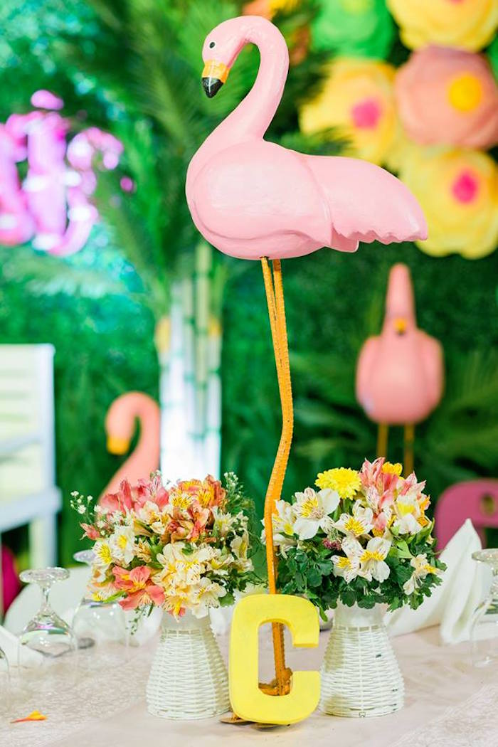 Kara S Party Ideas Fabulous Flamingo Birthday Party Kara